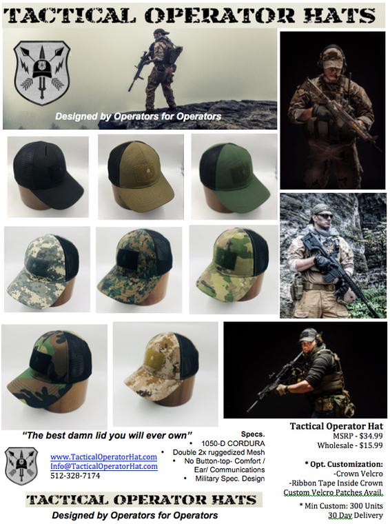Tactical Operator Hat