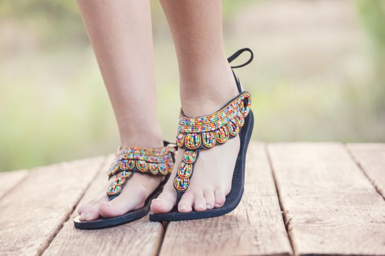 Gladiator Maasai Sandals