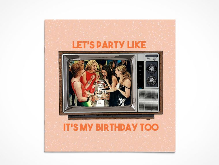 Birthday   Let's get Carrie'd Away