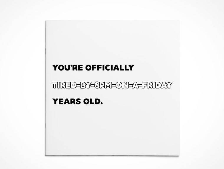Birthday   Tired-o-Clock