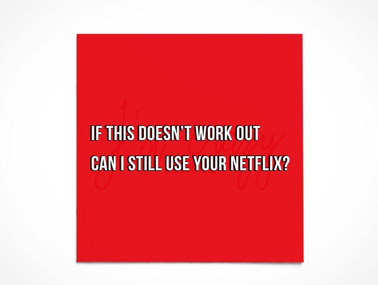 I Like You   Netflix and No Bill