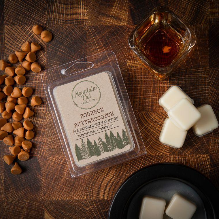 Bourbon Butterscotch - Scented Soy Wax Melts