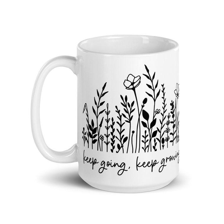 Keep Growing Deluxe Oversized Mug