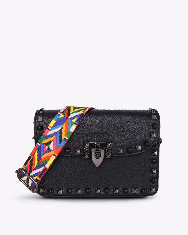 Ruby Vegan Leather Crossbody Black