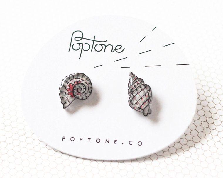 Seashell Mismatched Earrings