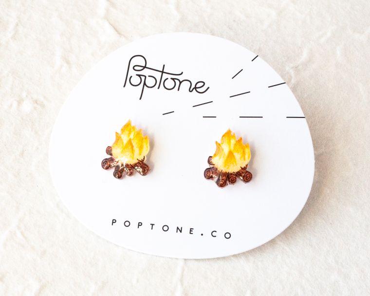 Campfire Earrings
