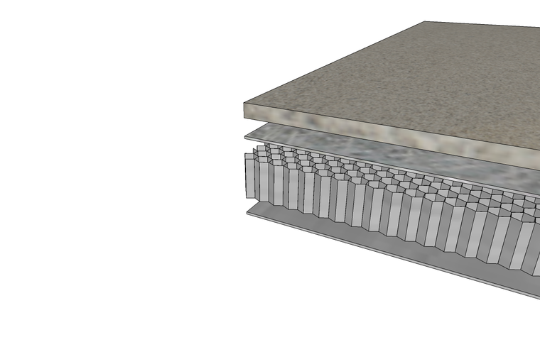 Lightweight Reinforced Natural Indiana Limestone Panel System for Cladding