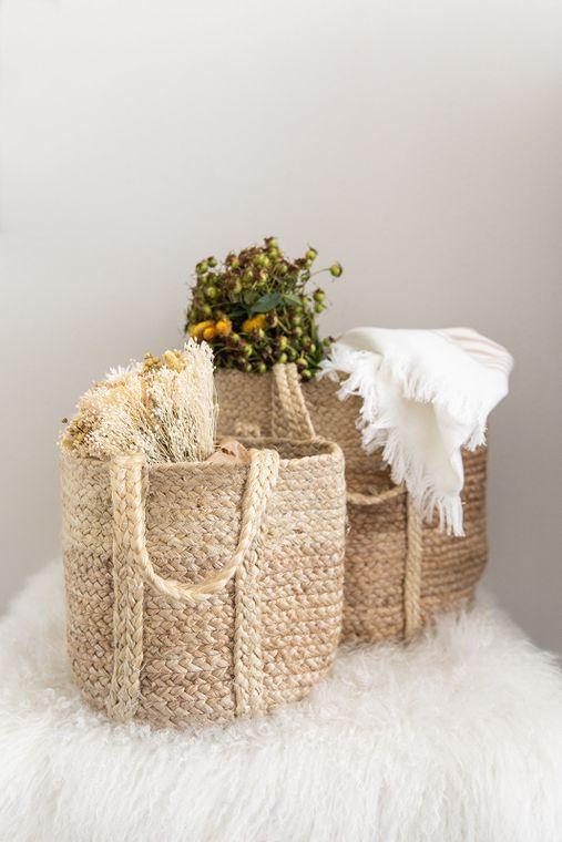 Kathi Jute Basket - Small