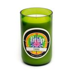12 oz. Karma soy candle in wine bottle
