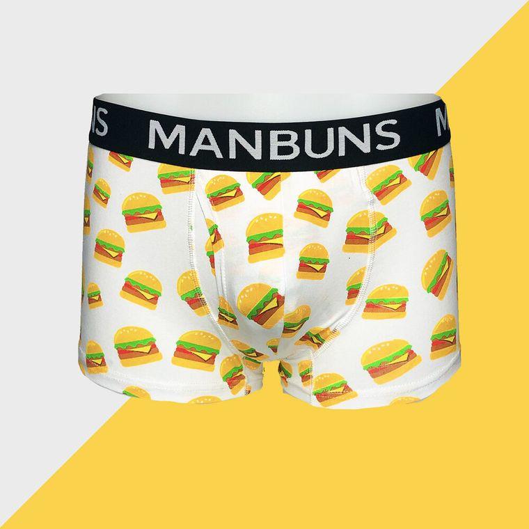 Cheesy Burgers - Men's Boxer Trunks