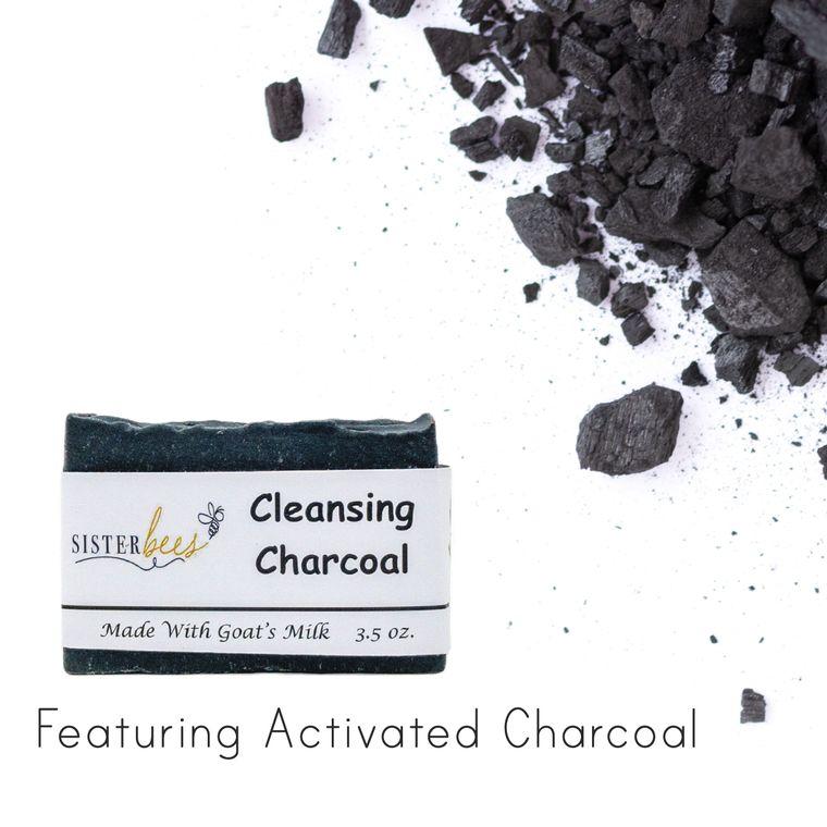 Charcoal Handmade Goats Milk Soap