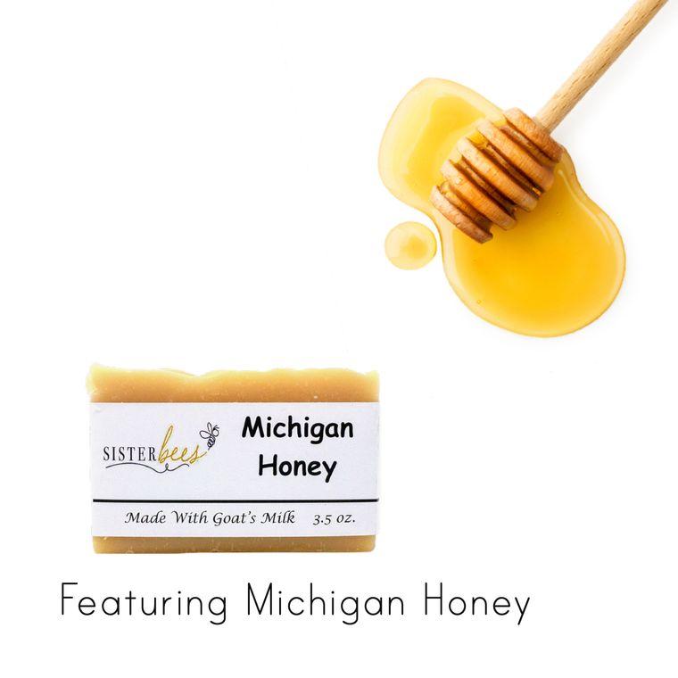 Michigan Honey Handmade Soap
