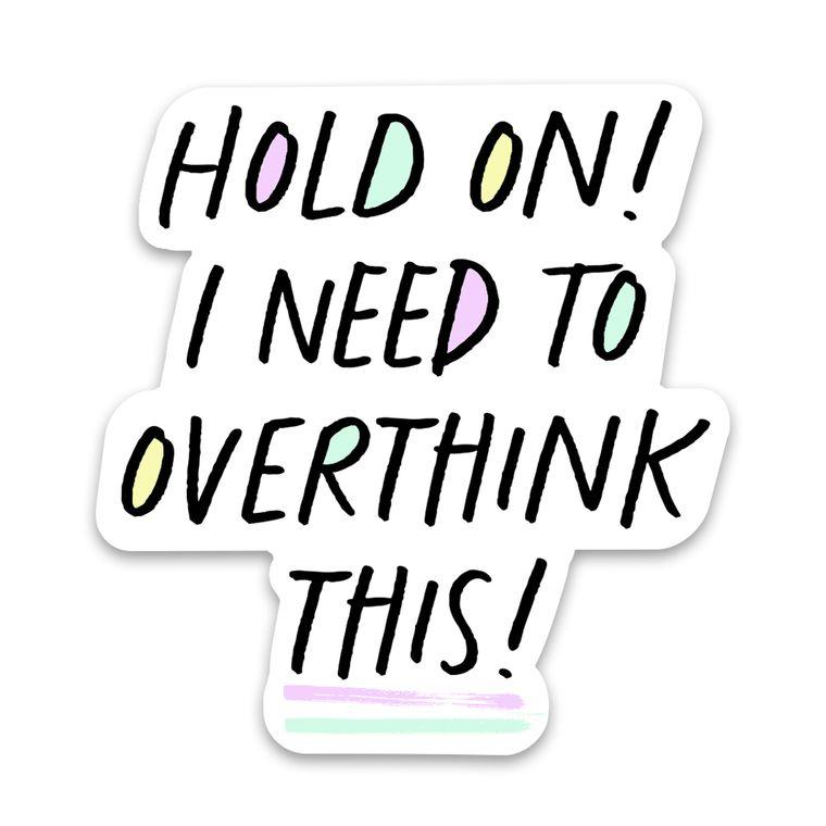 Sticker Overthink