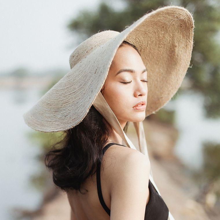 Lola Jute Wide Brim Hat (1-3 days)