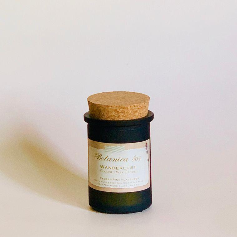 Wanderlust Candle-Cedar + Lavender. + Pine | 6 oz