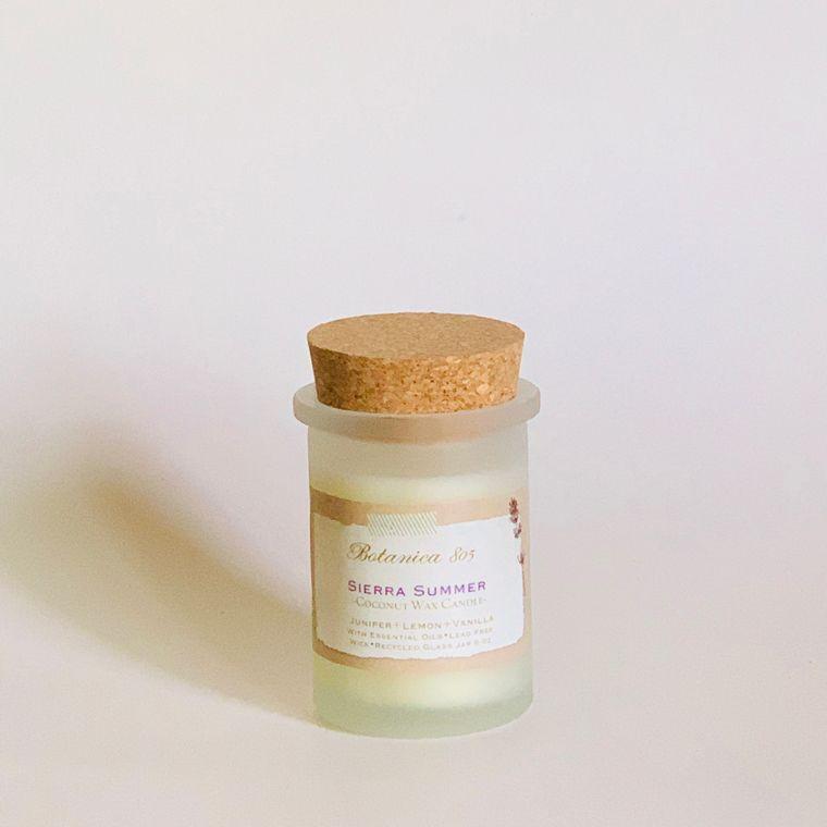 Sierra Summer Candle-Juniper + Lemon + Vanilla | 6 oz