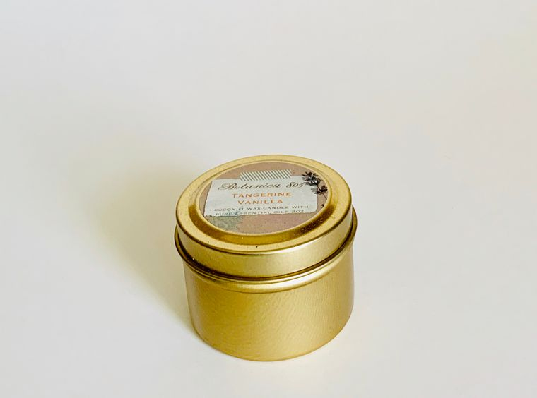 Tangerine Vanilla Candle | 2 oz