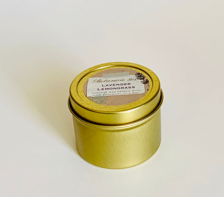 Lavender Lemongrass Candle