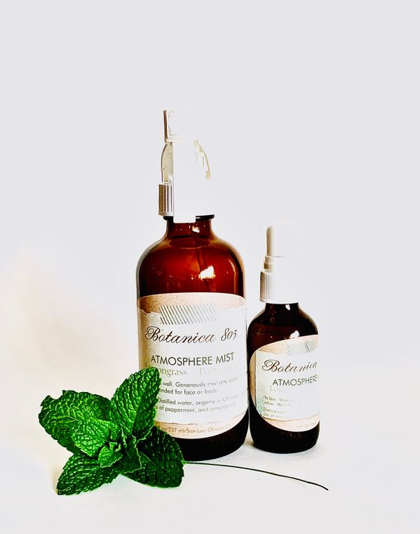 Lemongrass + Peppermint Atmosphere Mist | 8 oz