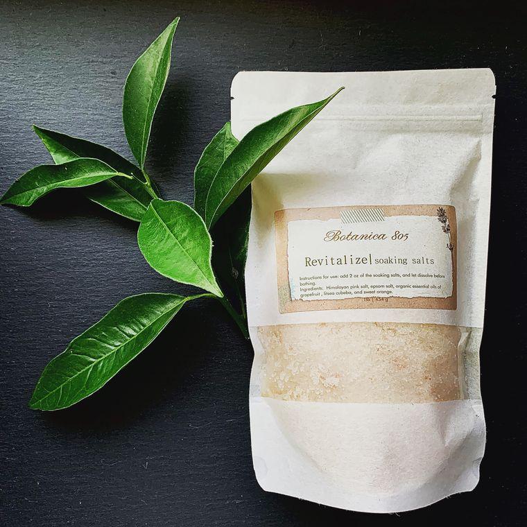 Revitalize Soaking Salts | 1 lb.