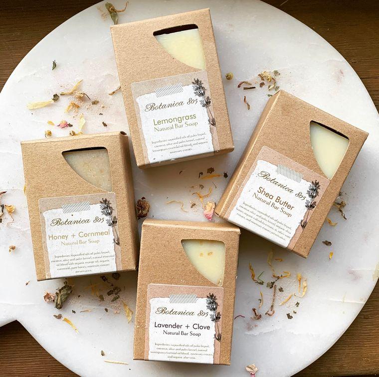Honey + Cornmeal Natural Bar Soap | 3.25