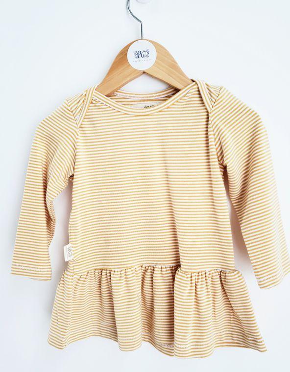 Tiny Stripes Baby Dress