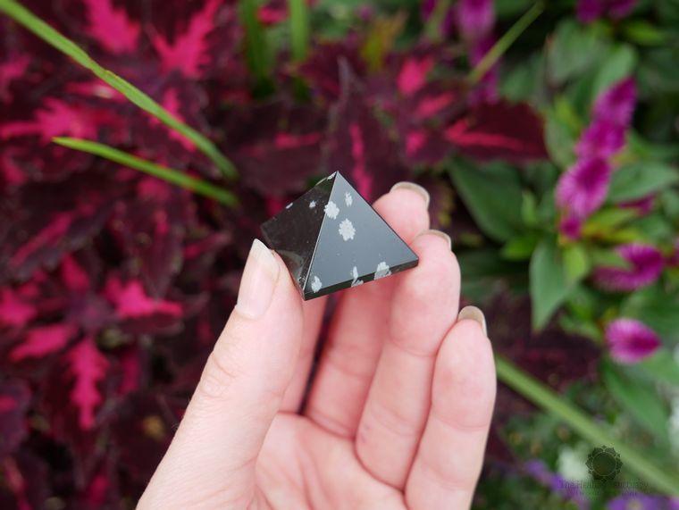 Snowflake Obsidian Pyramids