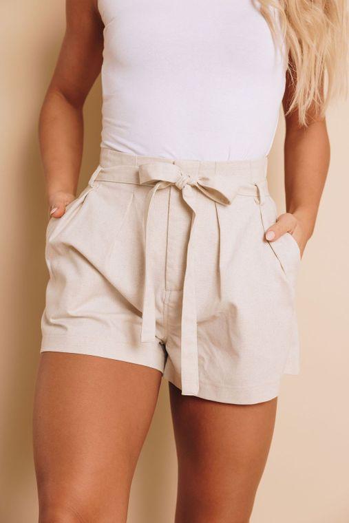 Sprague Tie Waist Shorts