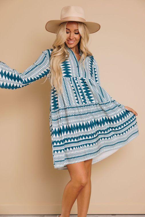 Pike Boho Dress