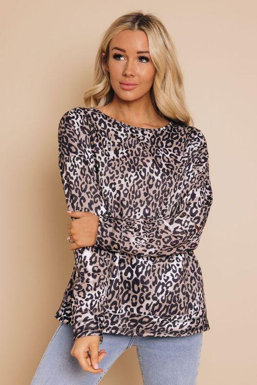 Hollywood Boulevard Leopard Sweatshirt