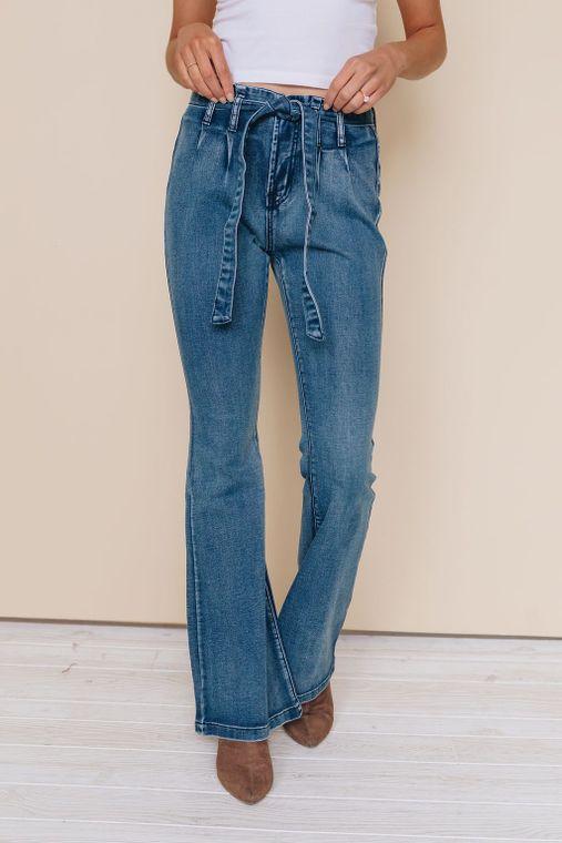 Fury Paperbag/Bell Bottom Jeans