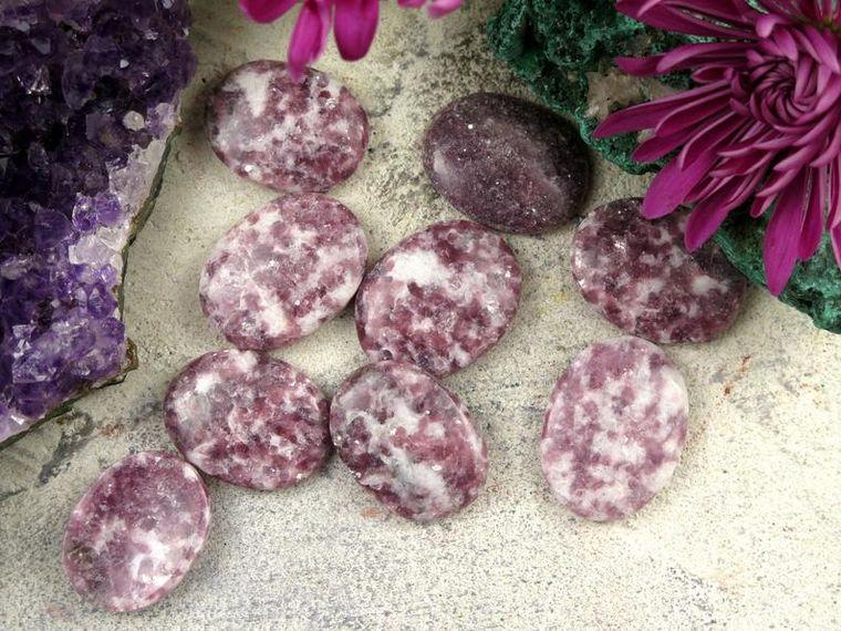 Lepidolite Worry Stones