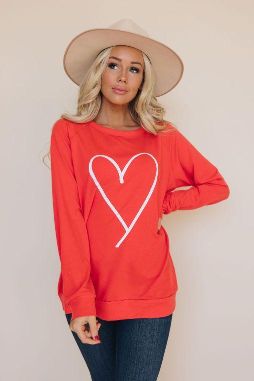 Heart's All Yours Sweatshirt