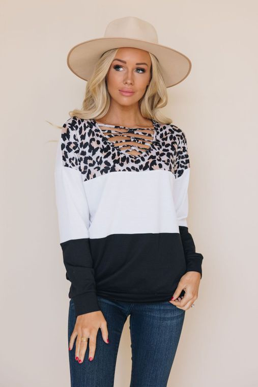 Keen To You Leopard Top