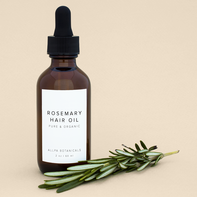 Rosemary Hair Oil - Pure and Organic