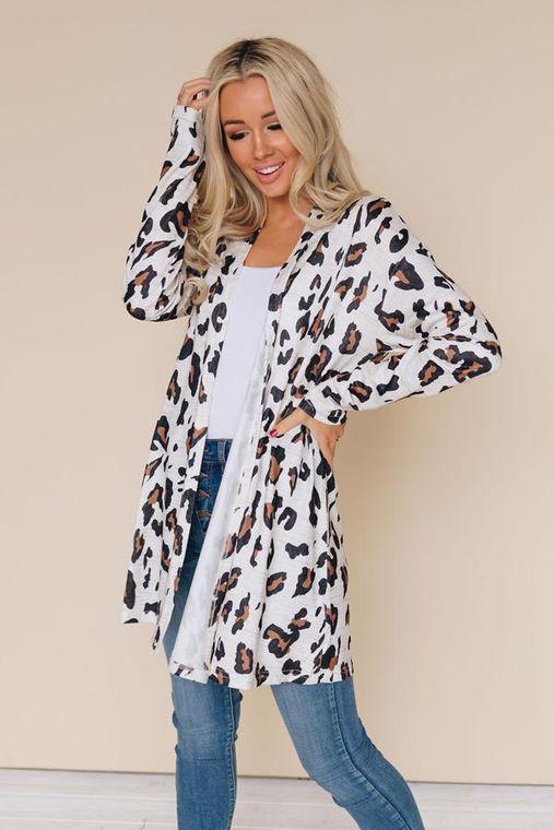 Untold Leopard Cardigan