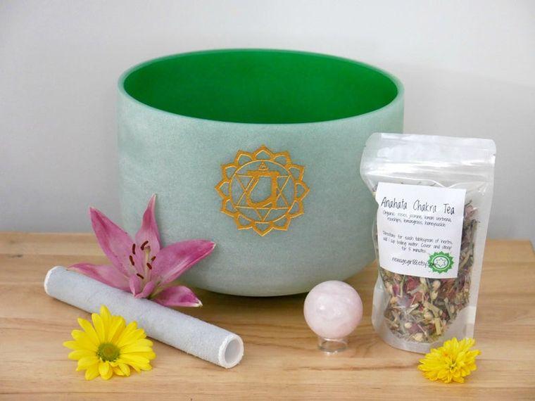 Anahata Crystal Healing Bowl
