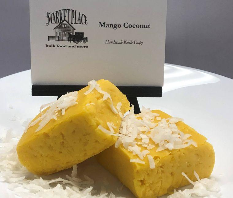 Mango Coconut Fudge