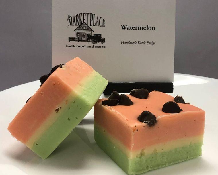 Watermelon Fudge