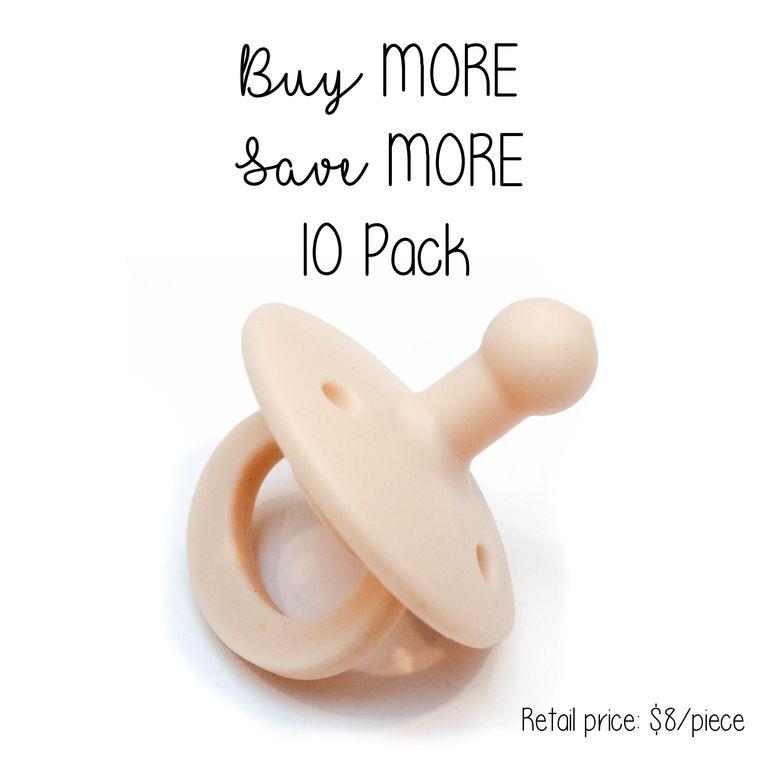 OLI2 pacifier : 10 Pack Ivory
