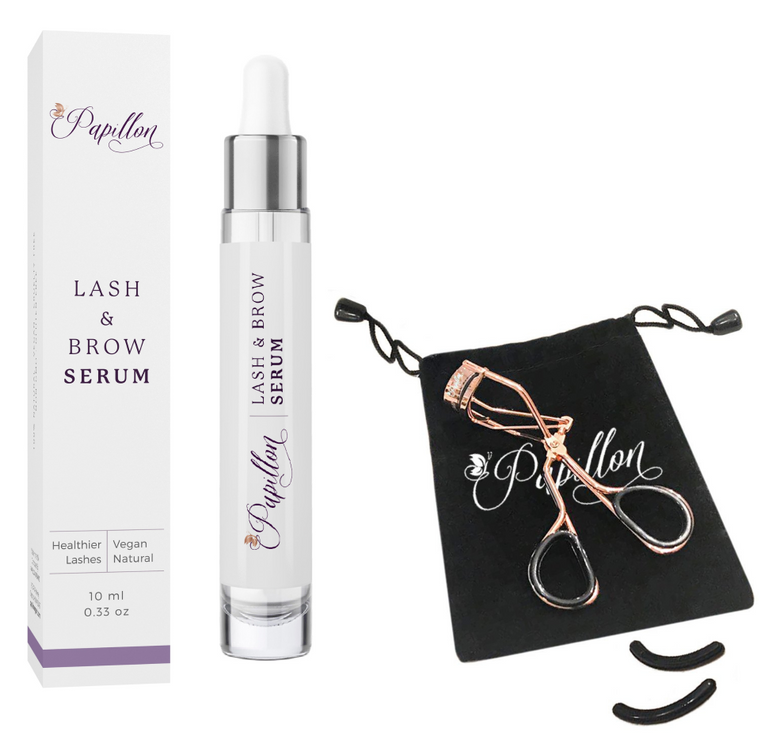 Organic Eyelash Growth Serum Kit