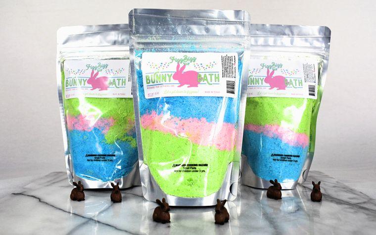 Bunny Bath - Easter Kids Bath Salts   Fizz Bizz LLC