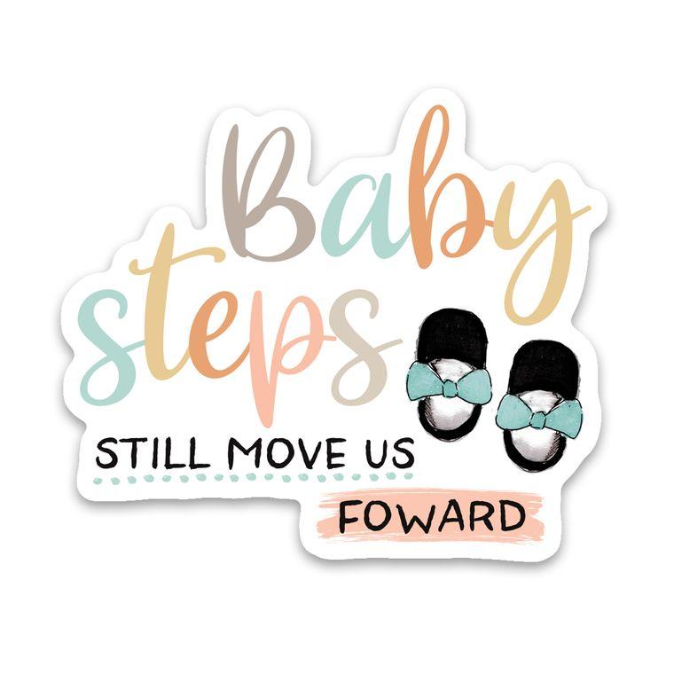 Sticker Baby Steps