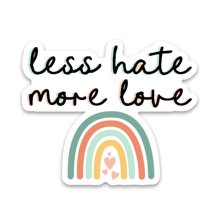 Sticker Less Hate