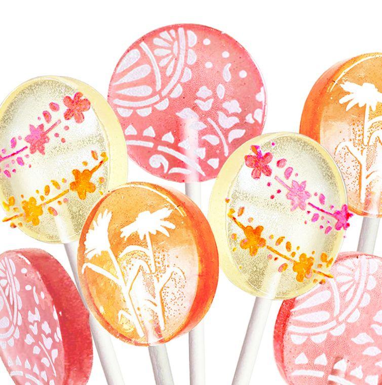 Pasteline Creme Wildflowers