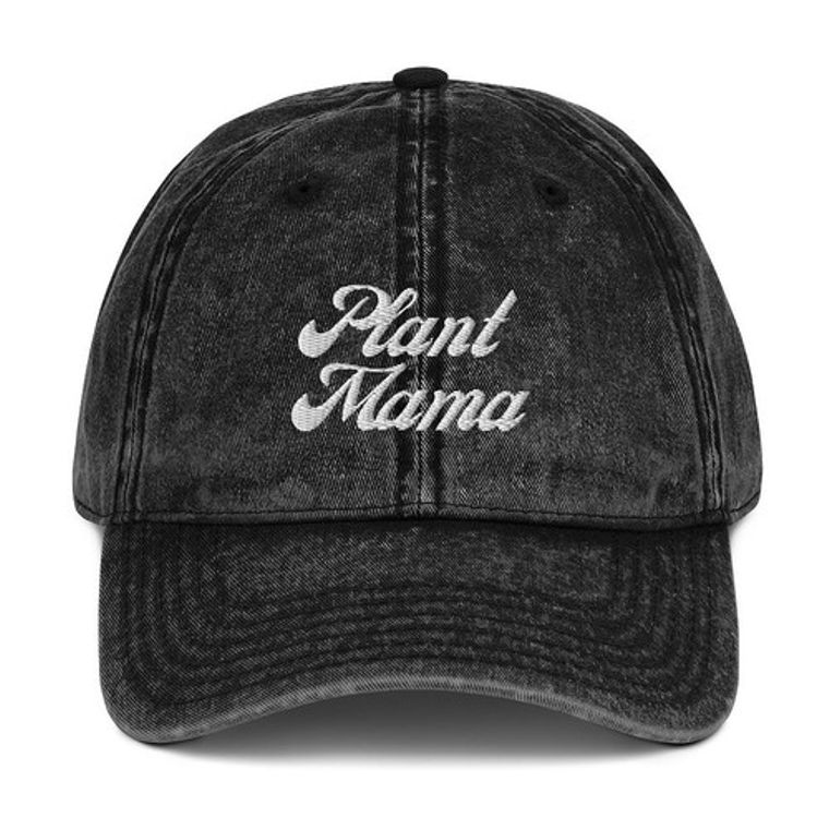 Plant Mama Vintage Baseball Hat