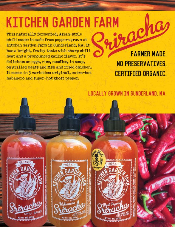 Sriracha, Original/Habanero