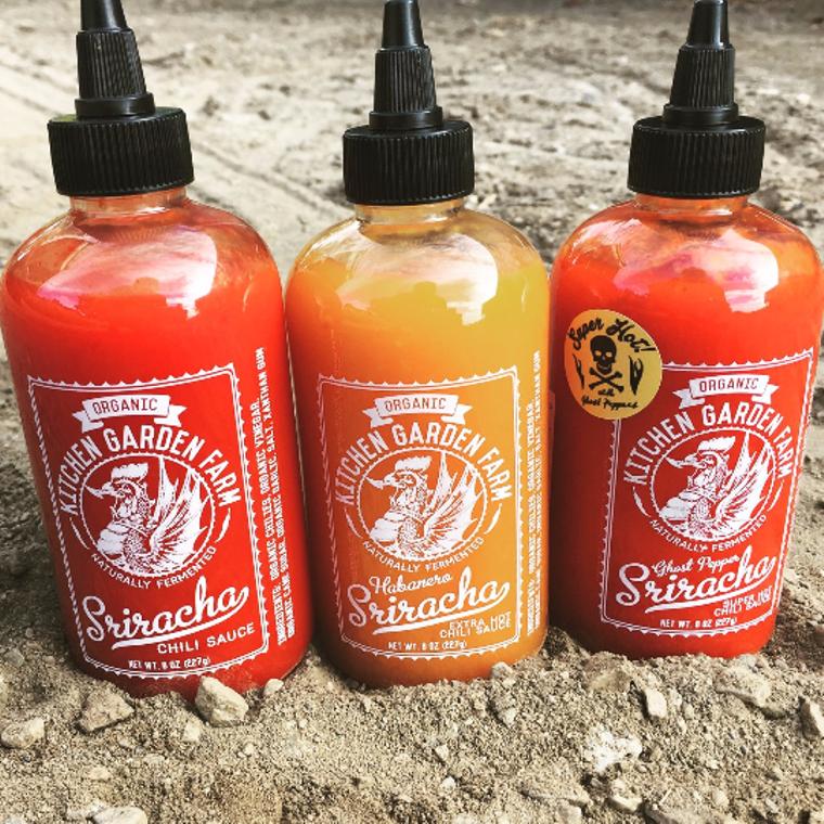 Sriracha, Original/Habanero/Ghost Pepper