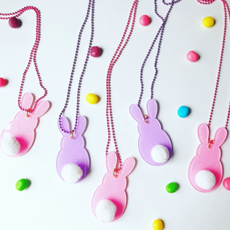 Bunny Necklaces