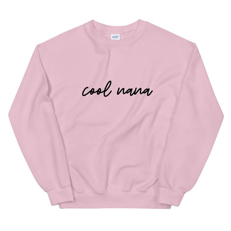 Cool Nana Sweater - Black Text